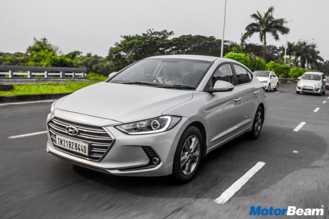 Elantra has a long list of features  &  a peppy petrol engine