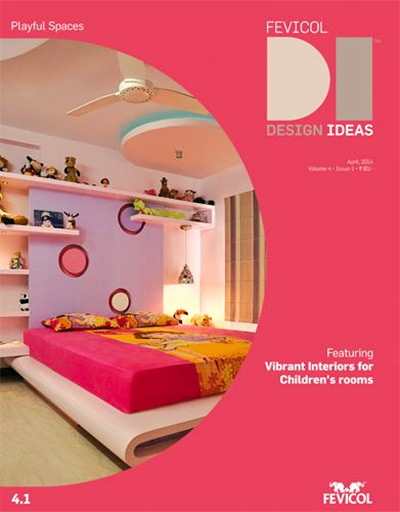 Decor for children's rooms suggested by Fevicol. Photograph: Courtesy Fevicol.