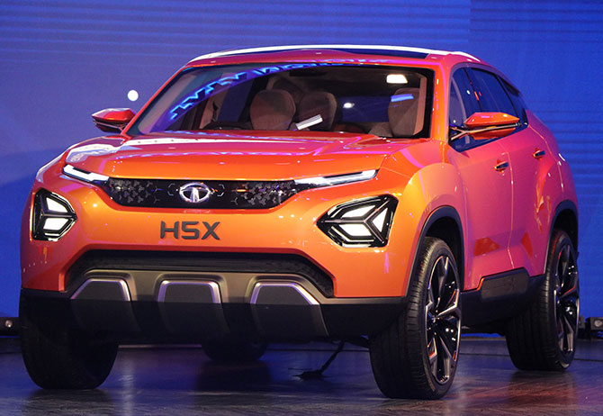 Led Auto Lights >> Harrier, Tata's most awaited SUV, is open for booking - Rediff.com Business