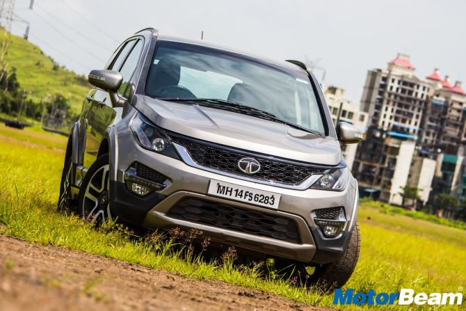 Tata Hexa offers excellent comfort to its passengers