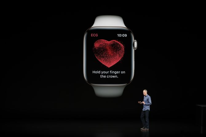 Apple launches a watch that can take ECG & 3 phones
