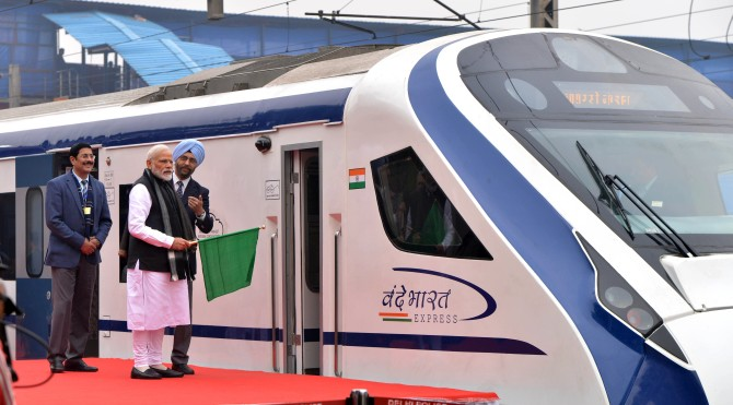 Vande Bharat Express, India's fastest train, flagged off