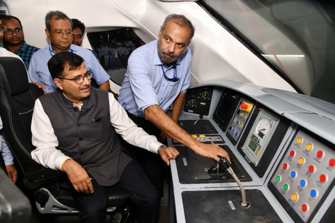 The man behind Vande Bharat Express