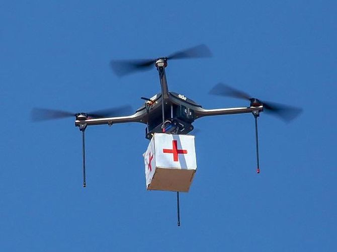 Drones will deliver critical drugs at your doorstep