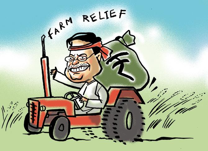 How PM-Kisan scores over loan waivers and Rythu Bandhu - Rediff com