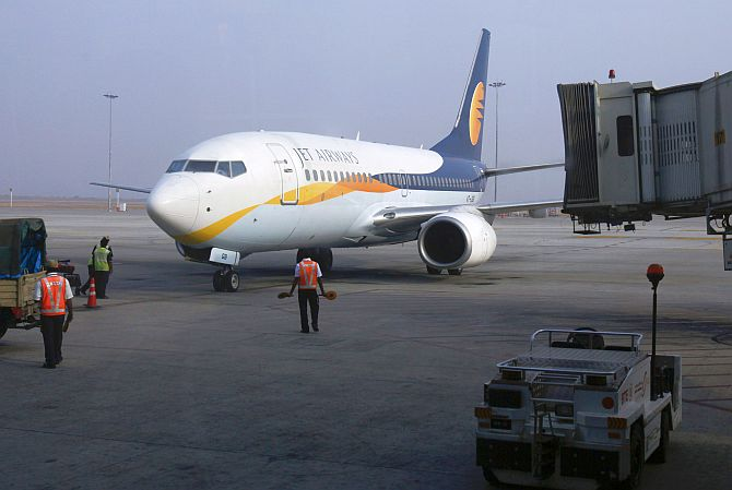 The chequered flight path of Jet Airways - Rediff com Business