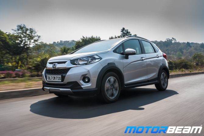 Honda WR-V is 'basically three cars in one'! - Rediff com Business