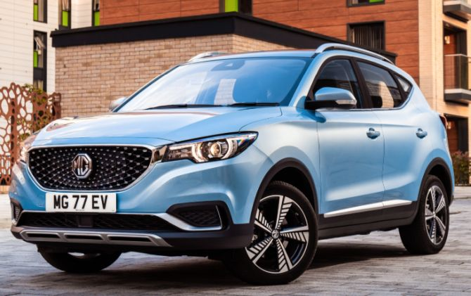 MG Motor eyes selling 2-3K units of electric SUV here
