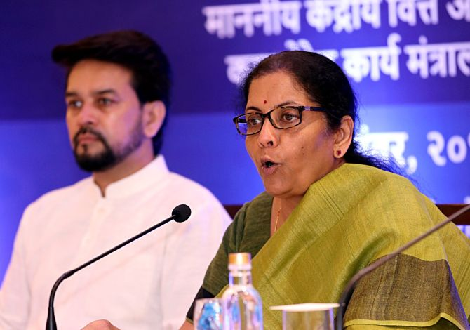 Highlights of Sitharaman's corporate tax breaks