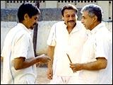 Nagesh Kukunoor, Jackie Shroff and Naseeruddin in 3 Deewarein