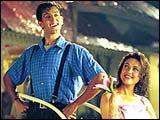 Hrithik Roshan, Preity Zinta in KMG