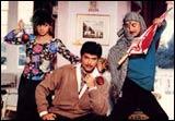 Sridevi, Anil Kapoor, Anupam Kher in Lamhe
