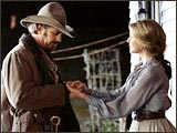 A still from Open Range