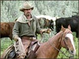 Robert Duvall in Open Range