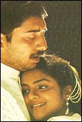 Aravind Swamy and Madhu in Roja