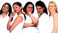 Sireesha Katragadda, Pooja Kumar, Bharati Achrekar, Rishma Malik and Jicky Schnee in Flavors