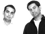 Krishna DK (left) and Raj Nidimoru