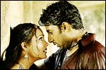Lara Dutta and Abhishek Bachchan