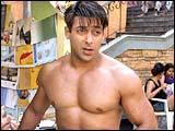 Salman Khan on the sets of MSK