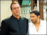 Sanjay Dutt and Arshad Warsi in Munnabhai MBBS