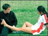 A still from Bend it Like Beckham