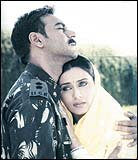 Ajay Devgan and Rani Mukerji in LoC