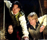 A still from Shanghai Knights