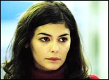 Audrey Tautou in Dirty Pretty Things