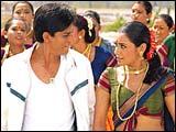 Shah Rukh Khan, Rani Mukerji in Chalte Chalte