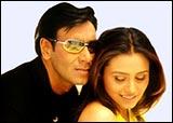 Ajay Devgan, Rani Mukerji in Chori Chori