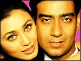 Rani Mukerji and Ajay Devgan in Chori Chori