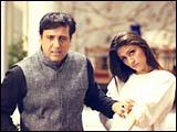 Govinda and Aarti Chhabria in Raja Bhaiya