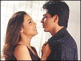Rani Mukerji, Shah Rukh Khan in Chalte Chalte