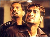Nana Patekar and Ajay Devgan in Bhoot