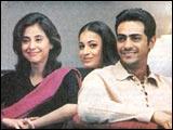 Urmila Matondkar, Dia Mirza and Arjun Rampal in Tehzeeb
