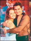 Reema Sen and Amar Upadhyay in Jodi Kya Banayi Wah Wah Ramji!