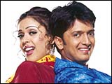 Hrishitaa Bhatt and Ritesh Deshmukh in Out Of Control