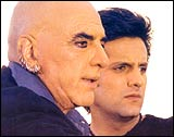 Feroz and Fardeen Khan