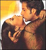 Celina Jaitley and Fardeen Khan in Janasheen
