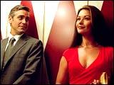 George Clooney and Catherine Zeta-Jones in Intolerable Cruelty