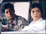 Sushant Singh and Sushmita Sen in Samay