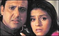 Govinda and Aarti Chhabria in Raja Bhaiya