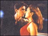 Shah Rukh, Preity Zinta in Kal Ho Naa Ho