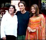 Gurinder Chadha, Martin Henderson and Aishwarya Rai