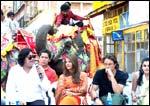 Gurinder Chadha, Aishwarya Rai and Martin enderson