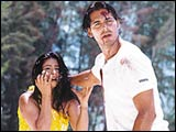 Tanishaa and Dino Morea