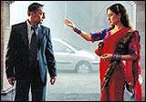 Rahul Bose and Kareena Kapoor in Chameli