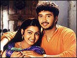 Nandana and Junior Sivaji in 'Success'
