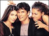 Namrata Barua, Milind Soman and Meera Vasudevan in Rules