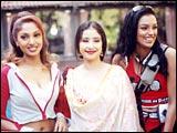 Suman Ranganathan, Manisha Koirala and Shweta Menon in Market